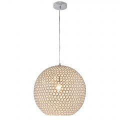 [lux.pro] New Design pendant light - Hanging Lamp - Crystal Stainless Steel (E14) - Chandelier