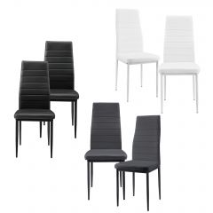 [en.casa] Padded chair in set of 6