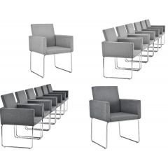 foam padded dining room chairs - aesthetic and ergonomic