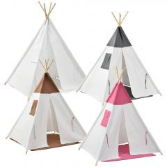 [en.casa] Kids Play Tent Indoor and Outdoor Use  150x120x120 cm
