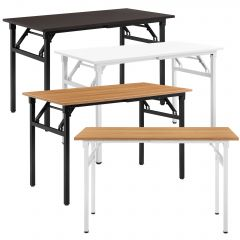 [neu.haus] Folding Table Desk 120x60x75-76,4 cm Design Writing Table Foldable Desk