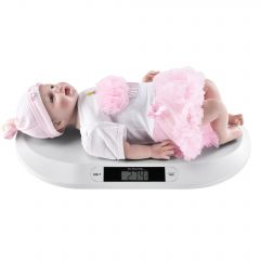 [pro.tec] Digital Baby Scale Up To 20 kg TARA Function LED Display