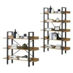 [en.casa] Bookshelf Storage Rack Shelving Unit