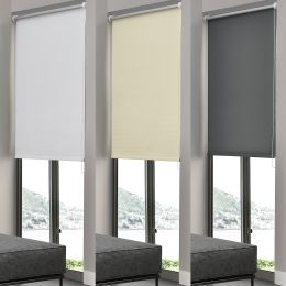 [neu.haus] CLIP-FIT DUO ROLLER BLIND WITHOUT DRILLING