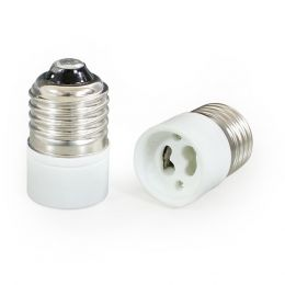 [lux.pro] 10 X E27 TO GU10 LAMP LIGHT BULB BASE SOCKET CONVERTER - ADAPTOR