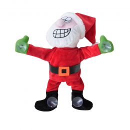 [lux.pro] SANTA CLAUS AT THE WINDOW - DANCE MUSIC - CHRISTMAS DECORATION XMAS