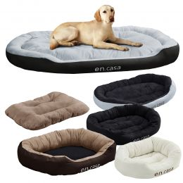 [en.casa] Cosy Dog Bed Soft Washable Pet Bed Pillow Different Sizes and Colours