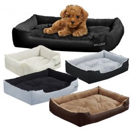 [en.casa] COSY DOG BED - DIFFERENT COLOURS AND SIZES