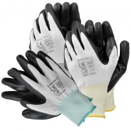 [pro.tec] Work Gloves 24 Pairs  - Work Glove for Gardening, Fishing, Construction, Work and More