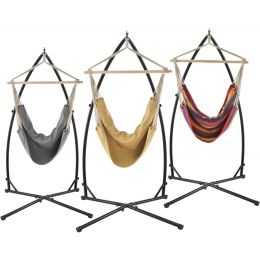 [casa.pro] Garden Camping Outdoor Hammock with or without Stand Swinging Hanging Chair Garden Outdoor in Different Colors